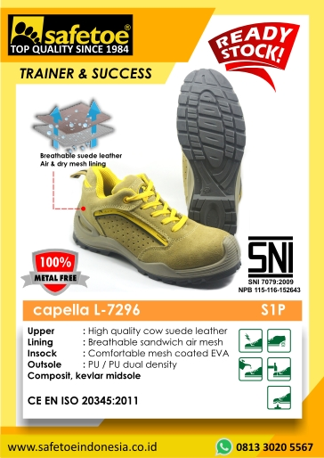 Safetoe Type Capella L-7296
