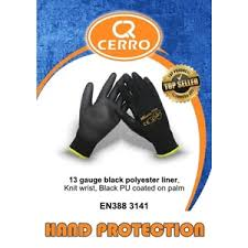Cerro Black PU Glove