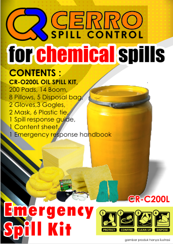 Chemical Spill Kit 200 L