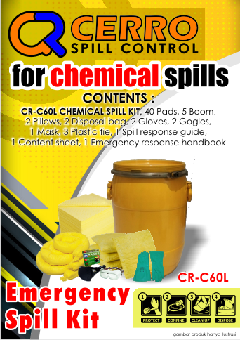 Chemical Spill Kit 60 L