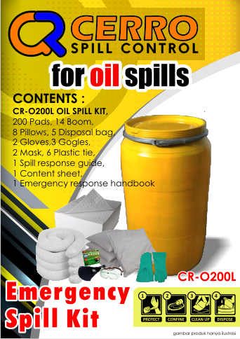 Oil Spill Kit 200 L