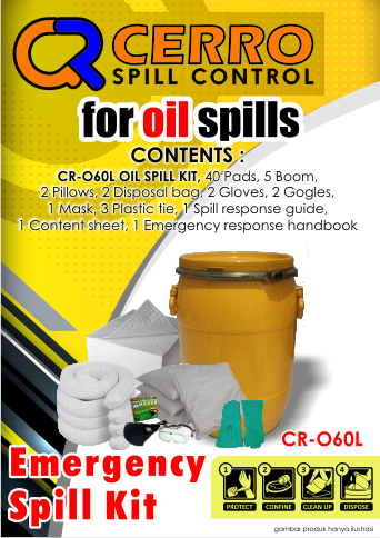 Oil Spill Kit 60 L